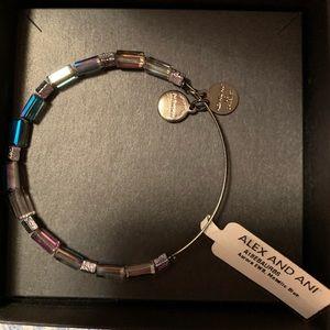 Alex and Ani metallic bracelet